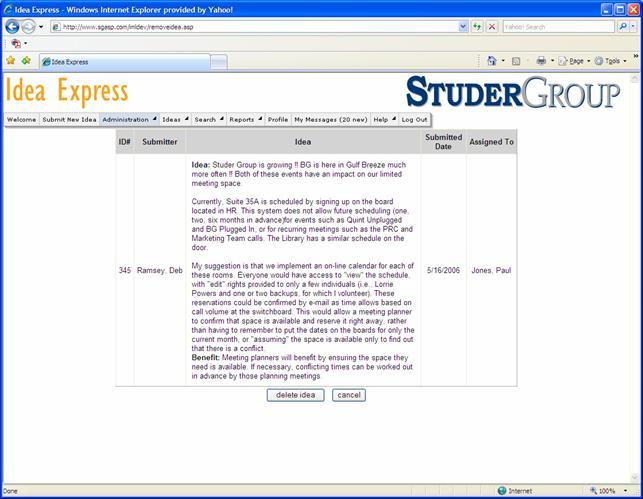 studer pillars meeting agenda template